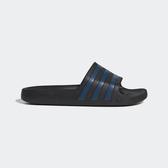 ADIDAS ADILETTE AQUA [F35532] 男 涼鞋 拖鞋 水鞋 雨鞋 海灘 游泳 愛迪達 黑藍