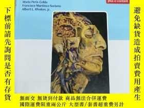 二手書博民逛書店Rhoton s罕見Atlas of Head, Neck, and Brain 羅頓的頭部、頸部和大腦圖譜Y