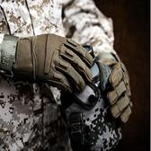特戰格斗戰術手套保暖耐磨美國防水裝備騎行軍工07a黑色加厚男士 伊羅 新品