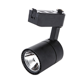 LED 10W軌道燈 燈泡色 黑