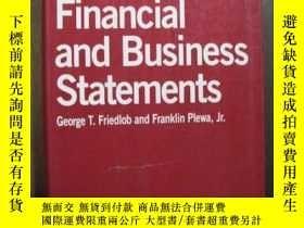 二手書博民逛書店FINANCIAL罕見AND BUSINESS STATEMENTSY10980 FINANCIAL AND