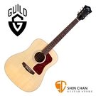 Guild 美廠吉他 D-40 全單板吉他 D桶身 雲杉面板/非洲桃心花木側背板 / 附Guild吉他硬盒 台灣公司貨