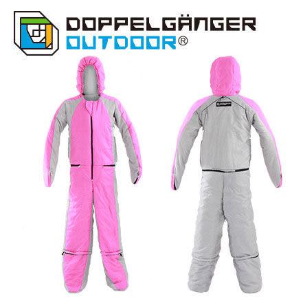 日本 DOPPELGANGER 莎拉莎拉人形睡袋 - 粉紅 DS-25B