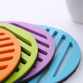 隔熱墊硅膠竹木歐式餐桌墊創意杯墊碗墊鍋墊盤防燙墊子 【korea時尚記】