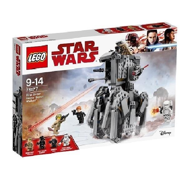 【南紡購物中心】【LEGO 樂高積木】星際大戰Star Wars系列-First Order Heavy Scout Walker75177