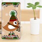♥ 俏魔女美人館 ♥ SONY Xperia T3 / D5103 {軟殼*聖誕小鳥} 手機殼 手機套 保護殼 保護套