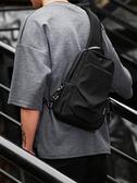 胸包男士潮牌包包戶外斜背包時尚潮流大容量學生單肩包 育心館