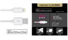 【鼎立資訊】APPLE認証授權 iPhone5/5s/6/6plus/6s/6splus 認證線 Lightning 8PIN to USB 傳輸線 *100CM 白色
