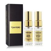 TOM FORD 私人調香系列-嫣紅檀香+禁忌玫瑰香水(4mlX2)[含外盒] EDP-航版