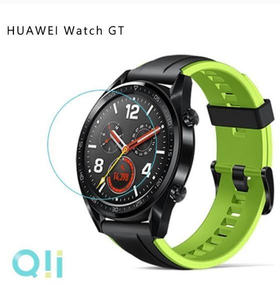 【愛瘋潮】Qii HUAWEI Watch GT(42mm) 玻璃貼 (兩片裝)手錶保護貼