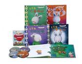 毛毛兔的情緒成長繪本第二部(全套4書+4CD)