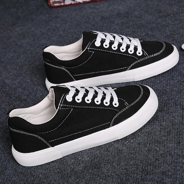 休閒鞋 新款女鞋小白鞋透氣韓版百搭學生休閒板鞋白鞋布鞋 【Ifashion·全店免運】