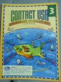 【書寶二手書T8/語言學習_PFG】Contact USA-A Reading and Vocabulary Text_