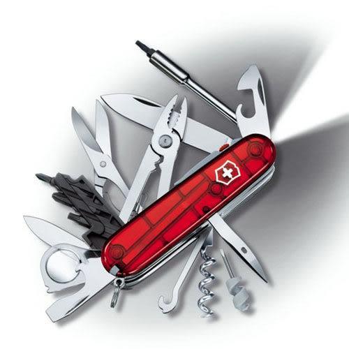 瑞士 維氏 Victorinox CyberTool 網際工具 經典36用瑞士刀 1.7925.T 露營│登山│背包客│渡假打工