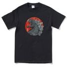 TOKYO KAIJU 男女短袖T恤 黑...