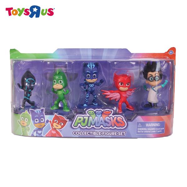 玩具反斗城 PJ MASKS3吋人偶五合一組