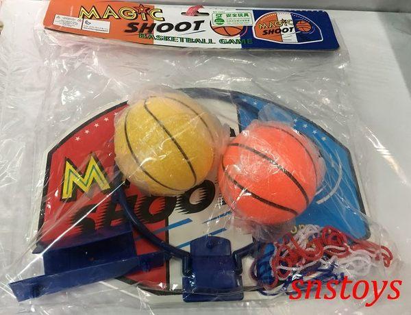 sns 古早味 玩具 雙球 籃板 籃球板 (小組)籃框 直徑17cm籃板長寬32x23公分