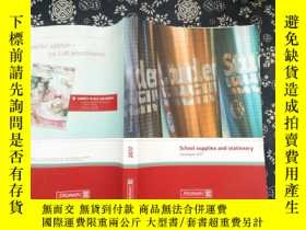 二手書博民逛書店School罕見supplies and stationery