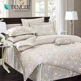 天絲 Tencel 春風又綠 床包 加大三件組 100%雙面純天絲
