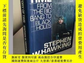 二手書博民逛書店A罕見brief history of time: from the big bang to black hole