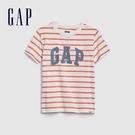 Gap男幼童 Logo透氣圓領短袖T恤 577650-白色