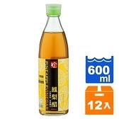 百家珍 鳳梨醋 600ml (12入)/箱【康鄰超市】