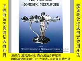 二手書博民逛書店Art罕見Nouveau Domestic Metalwork: