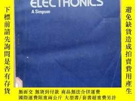 二手書博民逛書店testing罕見methods and reliability electronics(P501)Y1734