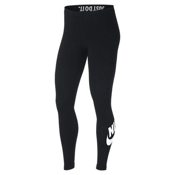 NIKE AIR LEGGING 黑白 LOGO 內搭褲 緊身 運動 貼身 AH2011-010【Speedkobe】