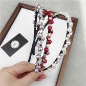 珍珠髮圈(任兩件)-時尚高貴大方氣質女髮箍6款73gi42[時尚巴黎]