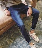 牛仔長褲男-彈力男士牛仔褲冬季潮牌寬鬆直筒修身韓版潮流小腳百搭長褲子 多麗絲旗艦店