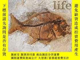 二手書博民逛書店史前生物罕見英文原版 Prehistoric life DK P