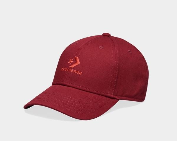 CONVERSE-LOCK UP BASEBALL 紅色棒球帽-NO.10008479-A08