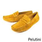 【Pelutini】基本款麂皮豆豆鞋 棕...