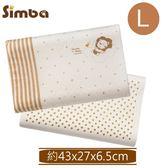 小獅王辛巴-有機棉乳膠舒眠枕-L(約43x27x6.5cm)