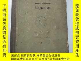 二手書博民逛書店electricity罕見and magnetism (H320