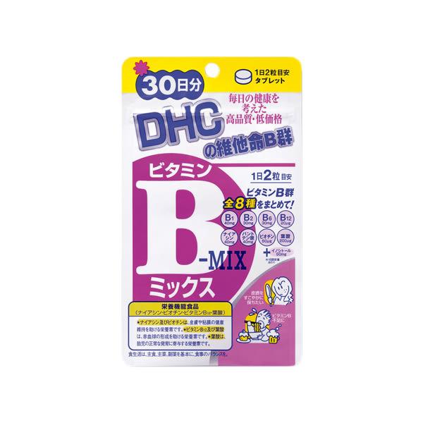 DHC 維他命B群(30日份)【小三美日】