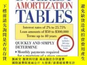二手書博民逛書店Monthly罕見Interest Amortization T