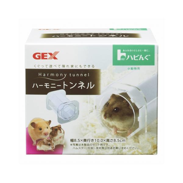 寵物家族-日本GEX-愛鼠超堅固壓克力隧道