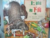 【書寶二手書T5/少年童書_NFT】上面和下面_珍娜.史蒂芬斯, 李坤 珊