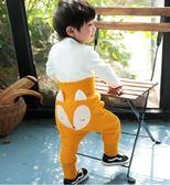 嬰兒褲子加絨加厚寶寶哈倫褲大PP褲秋冬棉褲兒童高腰護肚男童女童 交換禮物