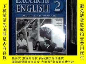 二手書博民逛書店EXCELLENT罕見ENGLISH 2 WORKBOOK 附盤