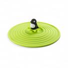 矽膠耐熱防塵水杯蓋-企鵝