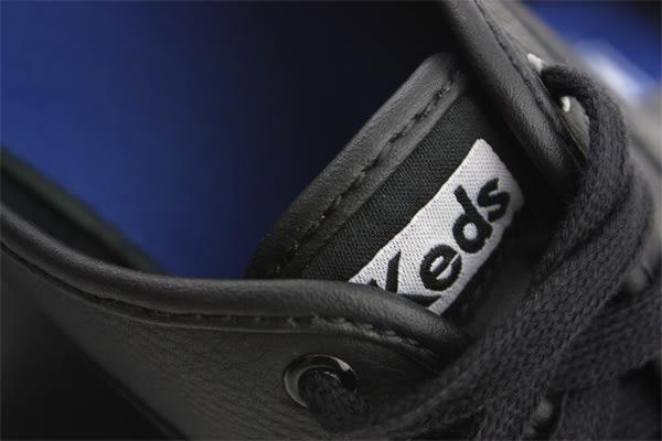 Keds CHAMPION BLACK LEATHER 休閒鞋 皮革 經典款 黑色 女鞋 9171W110016 no198