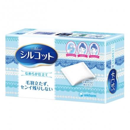 日本絲花化妝棉 (80枚)