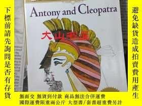 二手書博民逛書店Antony罕見and Cleopatra 安東尼與克莉奧佩特拉