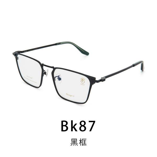 【Front 光學眼鏡】GM3813-三色可挑選#簡約方框光學眼鏡