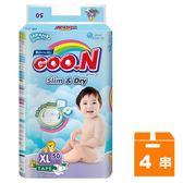 大王GOO.N 黏貼型紙尿褲-國際版大包裝 XL (50片)x4串/箱