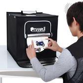 攝影棚led40cm攝影燈套裝攝影器材柔光箱背景紙攝影道具 XW