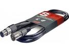 [唐尼樂器] Stagg SMC3 3米 XLR Canon 頭平衡訊號麥克風線(總代理公司貨一年保固)